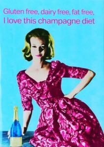 gluten free dairy free fat free champagne diet