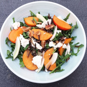 persimmon salad nutrition