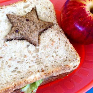 sandwich apple healthy eating