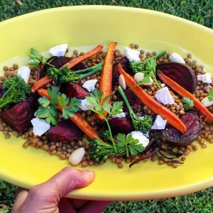 lentil beetroot salad nutrition
