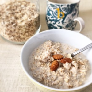 porridge carbohydrates nutrition