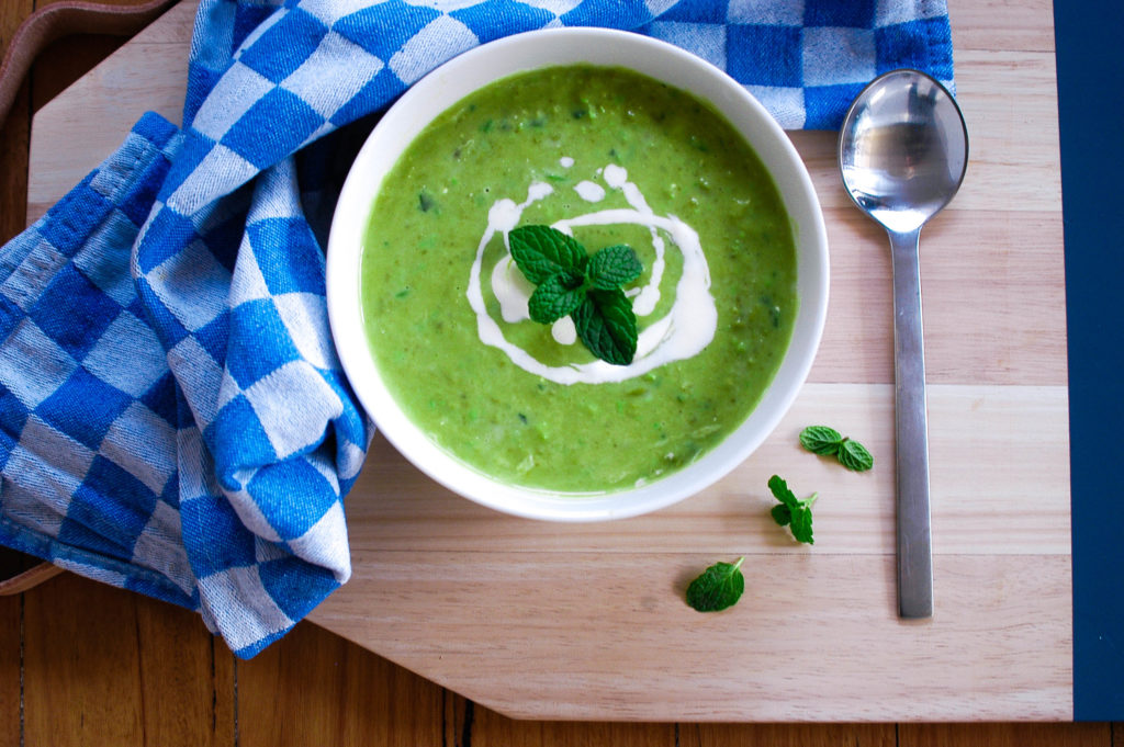 Pea and mint soup 2 (1 of 1)