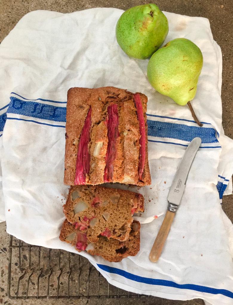 pear rhubarb bread -5203
